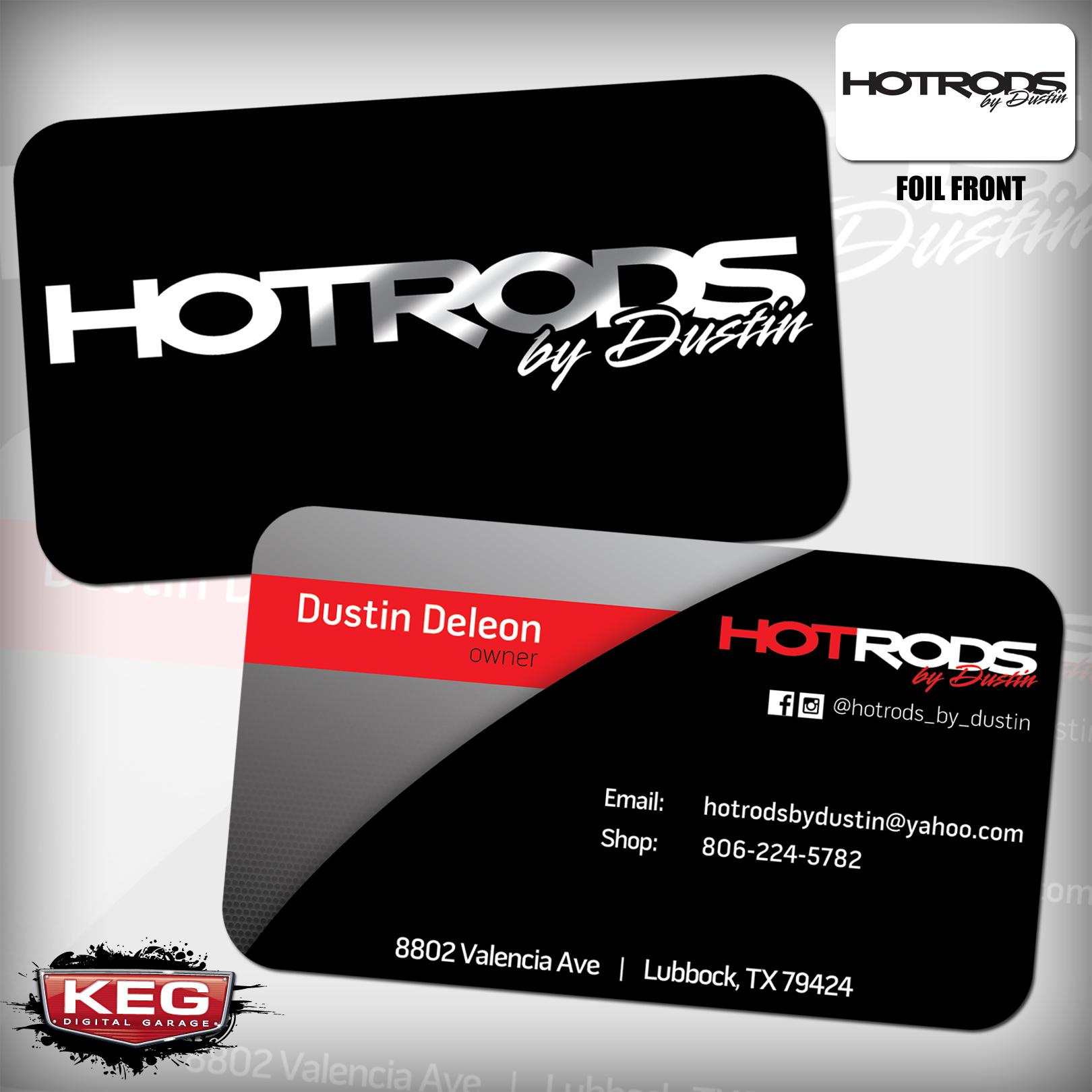 Business Cards - KEG Media