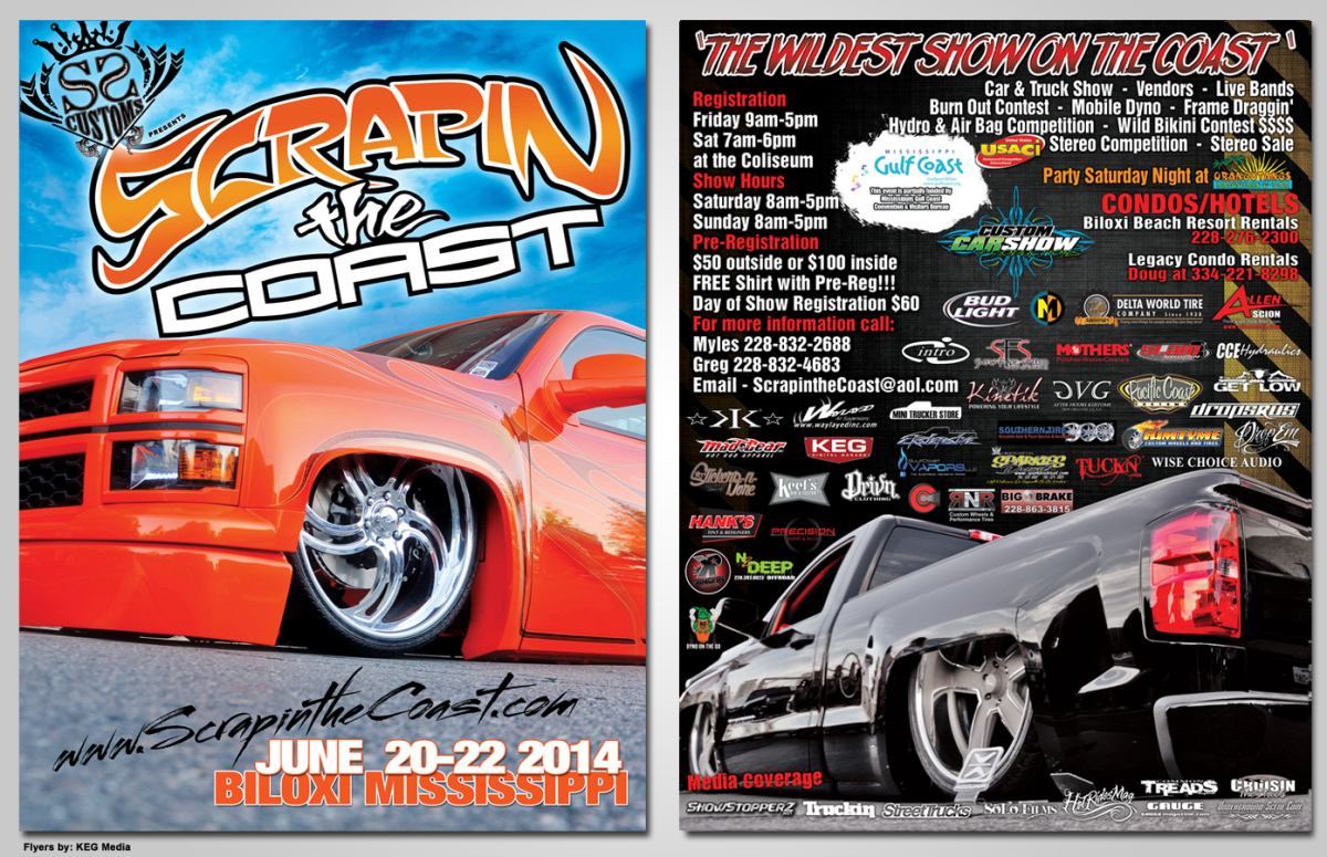 Flyers KEG Media - Blank car show flyer